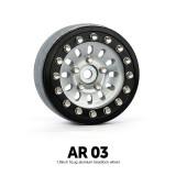 1.9 AR03 5 Lug Aluminum beadlock wheels (2)GM70382