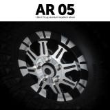 1.9 AR05 5 Lug Aluminum beadlock wheels (2)GM70424