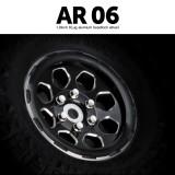 1.9 AR06 6 Lug Aluminum beadlock wheels (2)GM70434