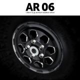 1.9 AR06 5 Lug Aluminum beadlock wheels (2)GM70444