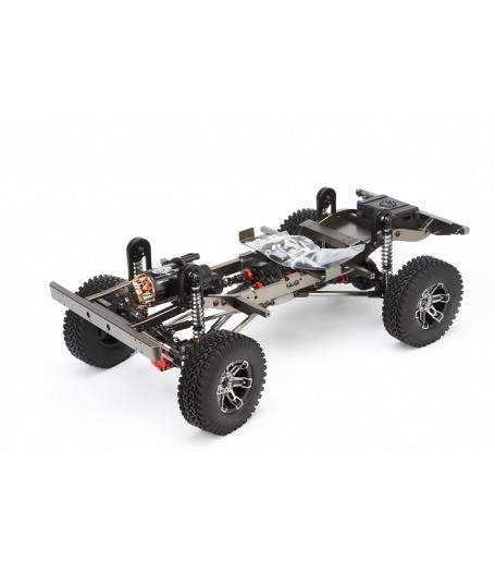 Full Metal Defender D90 ARTR crawler RC 4x4 with ALL Electronics and body w Rack