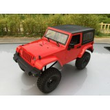 ZS4415 Full Metal Rubicon 4x4 Red or Yellow Body